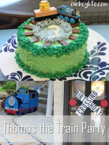 Thomas the Train Party
