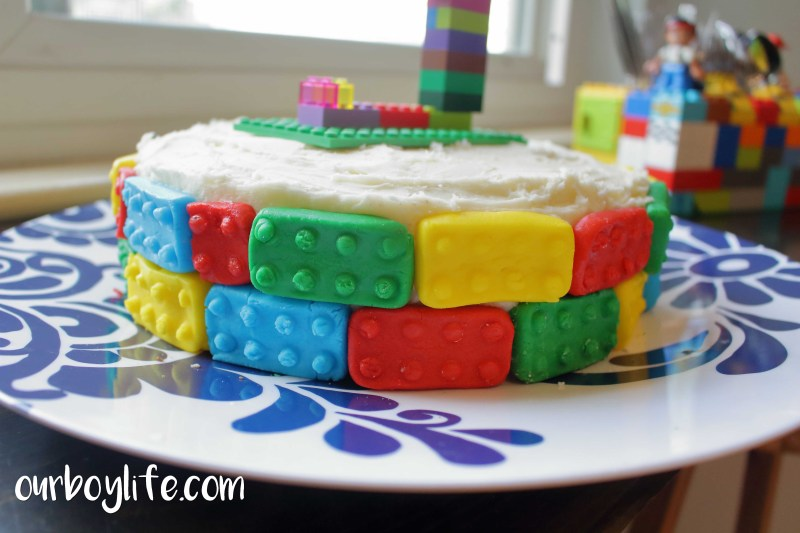 LEGO Cake Decoration