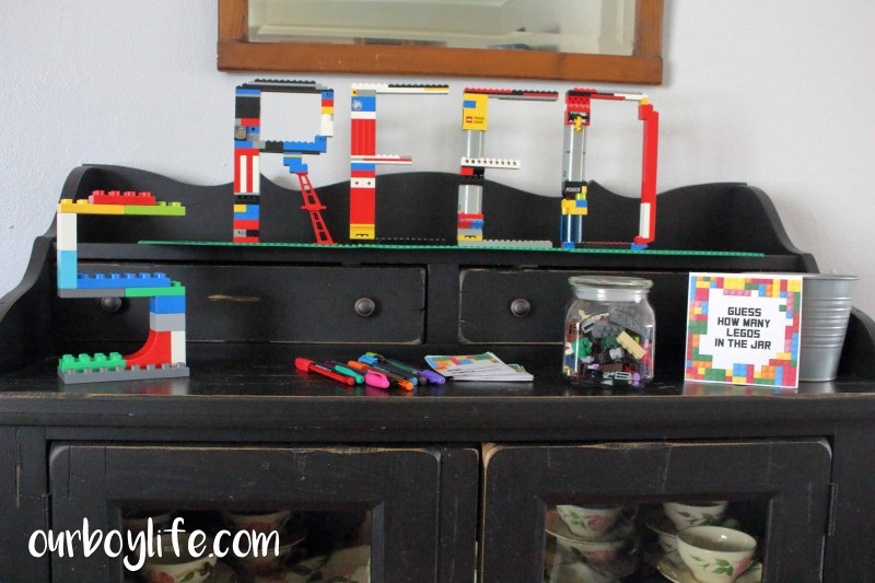 LEGO Birthday Party Decorations