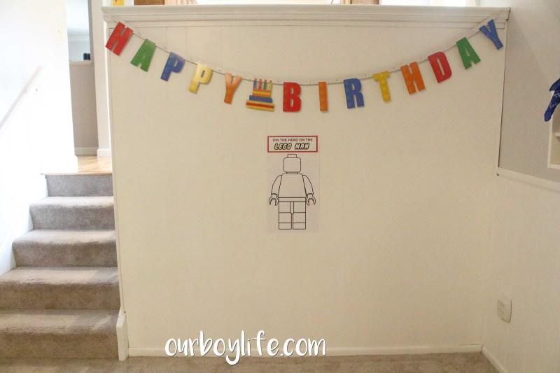 LEGO Birthday Party Game
