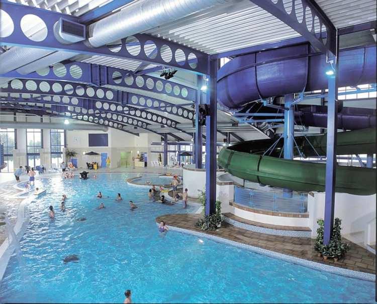 Hendra Holiday Park Newquay Cornwall Indoor Pool Photo