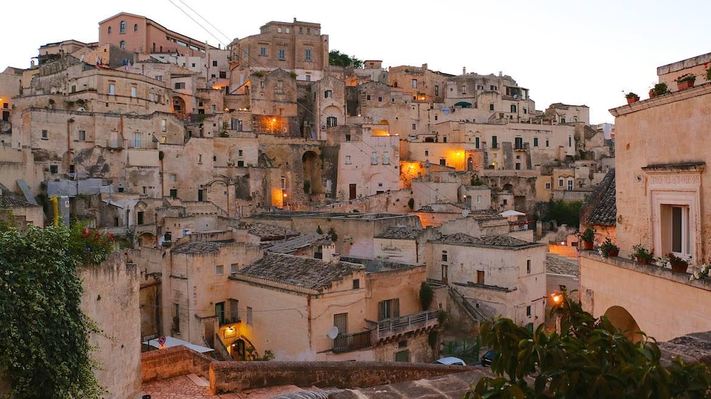 Matera Old town.