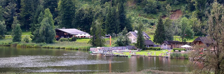 The lake at Goldegg.