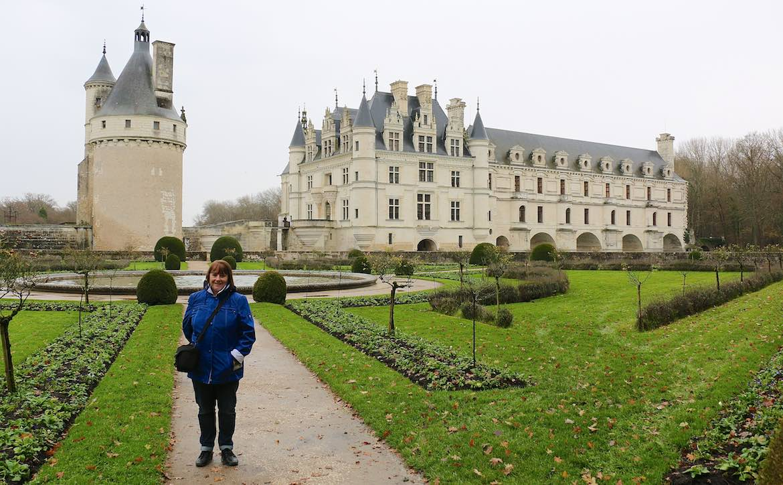 Chenonceau chateau.