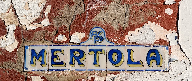 Mertola sign.
