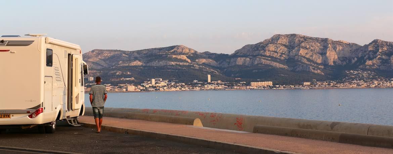Parking spot at Marseille.