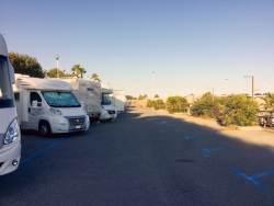 Parking at Santo Stefano la Mare.