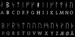 Rune stone translation table