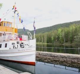 Telemark Canal Beautiful Waterway World