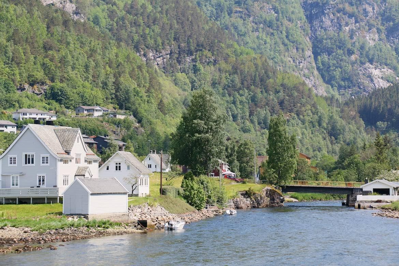 Lunch stop Hardanger Fjord