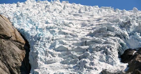 Briksdal Glacier largest European Glacier