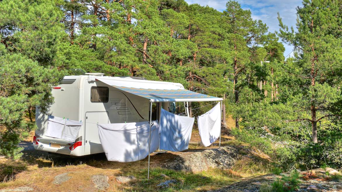 Weird Wild Camping in the Pretty Town of Naantali