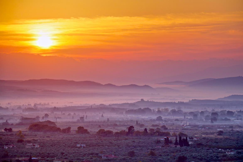 Secret Spartan Paths To Mount Taygetos