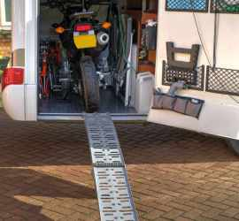 The ramp enables makes life easy
