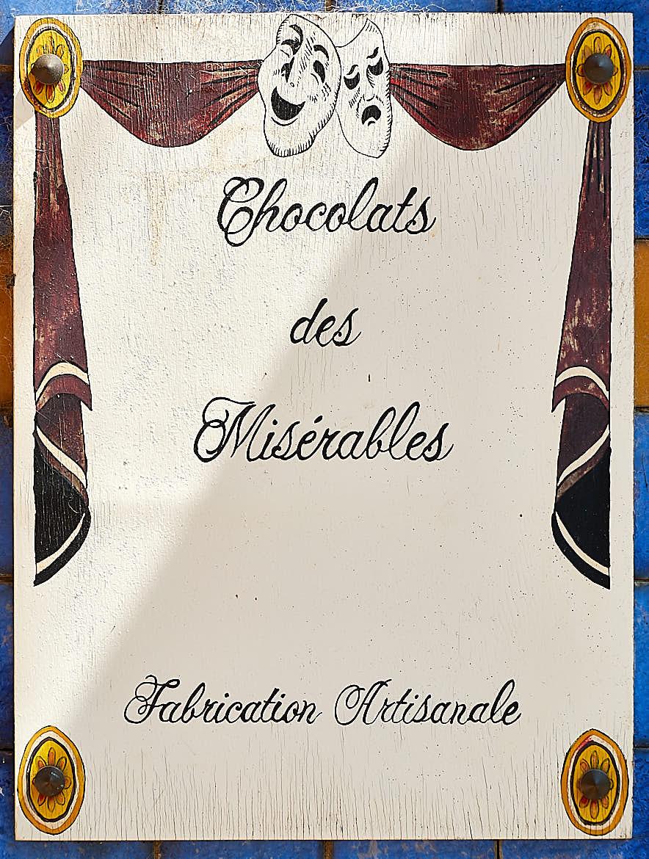 Les Miserables Chocolates