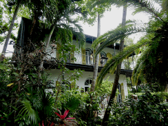 Hemingway house in Key West, FL