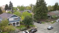 View of Seattle neighborhood