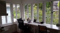 An office was once a sleeping porch