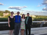 Four of us at Kennedy Center