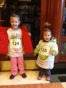 Official runners with their bibs!