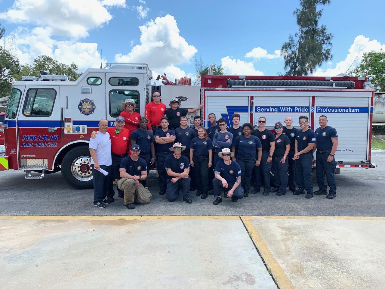 Everglades High Fire Academy Live Burn Our City Media