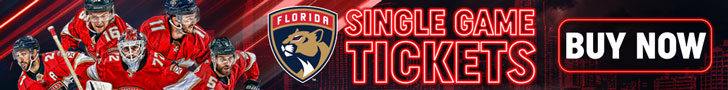 Buy Single Game Panthers Tickets Today!