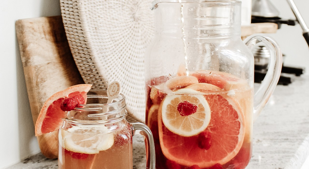In the Kitchen: Rosé Sangria