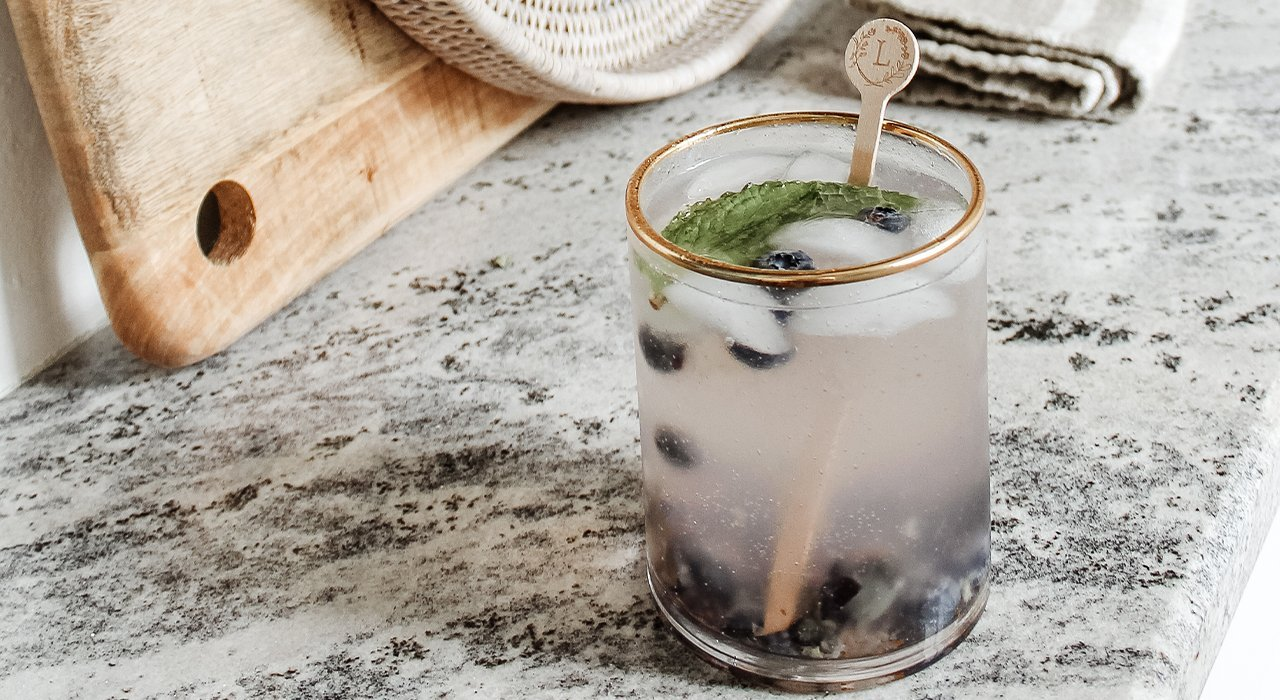 In the Kitchen: Easy Blueberry Lemonade Cocktail