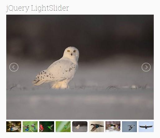 jQuery Light Slider