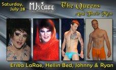 Show Ad | MJ's Cafe (Dayton, Ohio) | 7/28/2012
