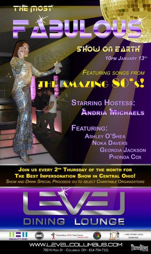 Show Ad | Level Dining Lounge (Columbus, Ohio) | 1/13/2011
