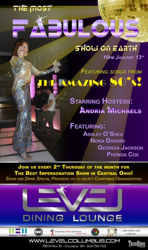 Show Ad | Level Dining Lounge (Columbus, Ohio) | 1/13/2011