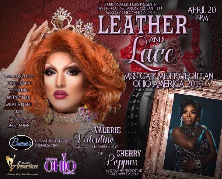 Show Ad   Miss Gay Metropolitan America   Boscoe's (Columbus, Ohio)   4/20/2019