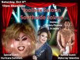 Show Ad | Toolbox Saloon (Columbus, Ohio) | 10/8/2016