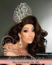 Kourtney Paige Van Wales - Miss Continental Elite 2013
