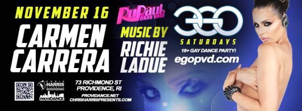Show Ad | Ego (Providence, Rhode Island) | 11/16/2013