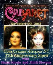 Show Ad | Club Cabaret (Hickory, North Carolina) | 11/9/2013