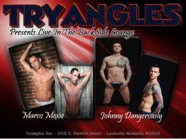 Show Ad   Tryangles (Louisville, Kentucky)   11/2/2012 & 11/3/2012