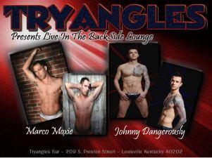 Show Ad | Tryangles (Louisville, Kentucky) | 11/2/2012 & 11/3/2012