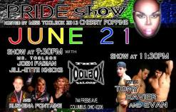 Show Ad | Toolbox Saloon (Columbus, Ohio) | 6/21/2014