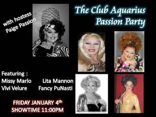 Show Ad | Club Aquarius (Dayton, Ohio) | 1/4/2007