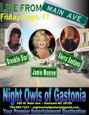 Show Ad | Night Owl Night Club (Gastonia, North Carolina) | 9/17/2010