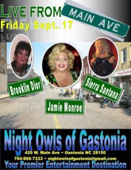 Show Ad | Night Owl Night Club (Gastonia, North Carolina) | 9/17/2010