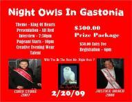 Show Ad   Mr. Night Owls   Night Owls (Gastonia, Nort Carolina)   2/20/2009