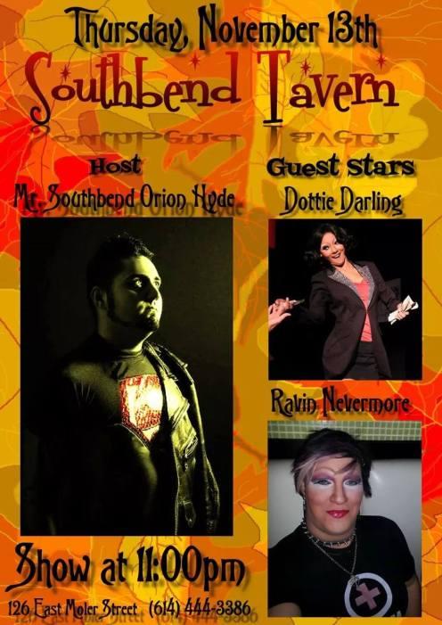 Show Ad | Southbend Tavern (Columbus, Ohio) | 11/13/2014