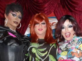 Diamond Hunter, Hellin Bedd and Mary Nolan at Cavan Irish Pub (Columbus, Ohio) March 2015