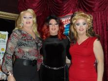 Missy Marlo, Hellin Bedd and Vivi Velure at Cavan Irish Pub. Circa 2015.