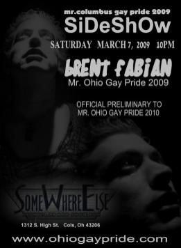 Show Ad | Somewhere Else Nightclub and Show Bar (Columbus, Ohio) | 3/7/2009