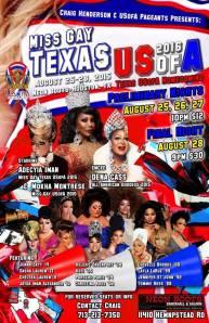 Show Ad | Miss Gay Texas USofA | Neon Boots (Houston, Texas) | 8/25-8/28/2015