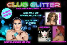 Show Ad | Club Glitter (Cincinnati, Ohio) | 5/23/2015